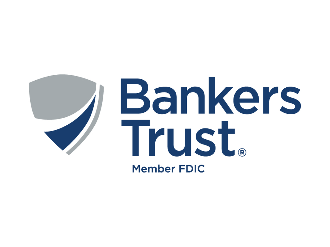Logo of Bankers Trust with tagline: Member FDIC.
