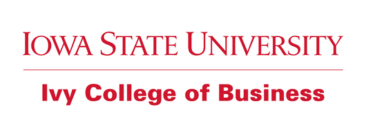 Logo of Iowa State University Ivy College of Business.