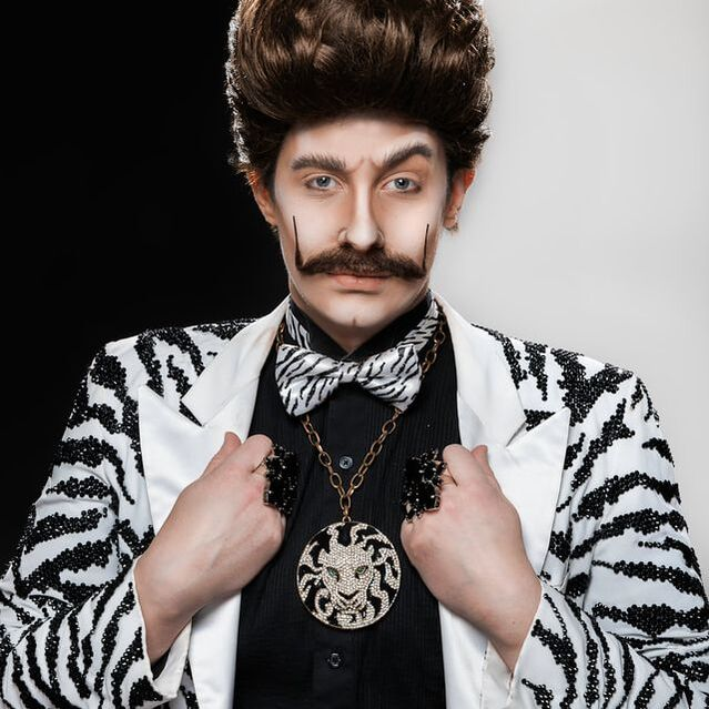 Drag King Mick Douch.